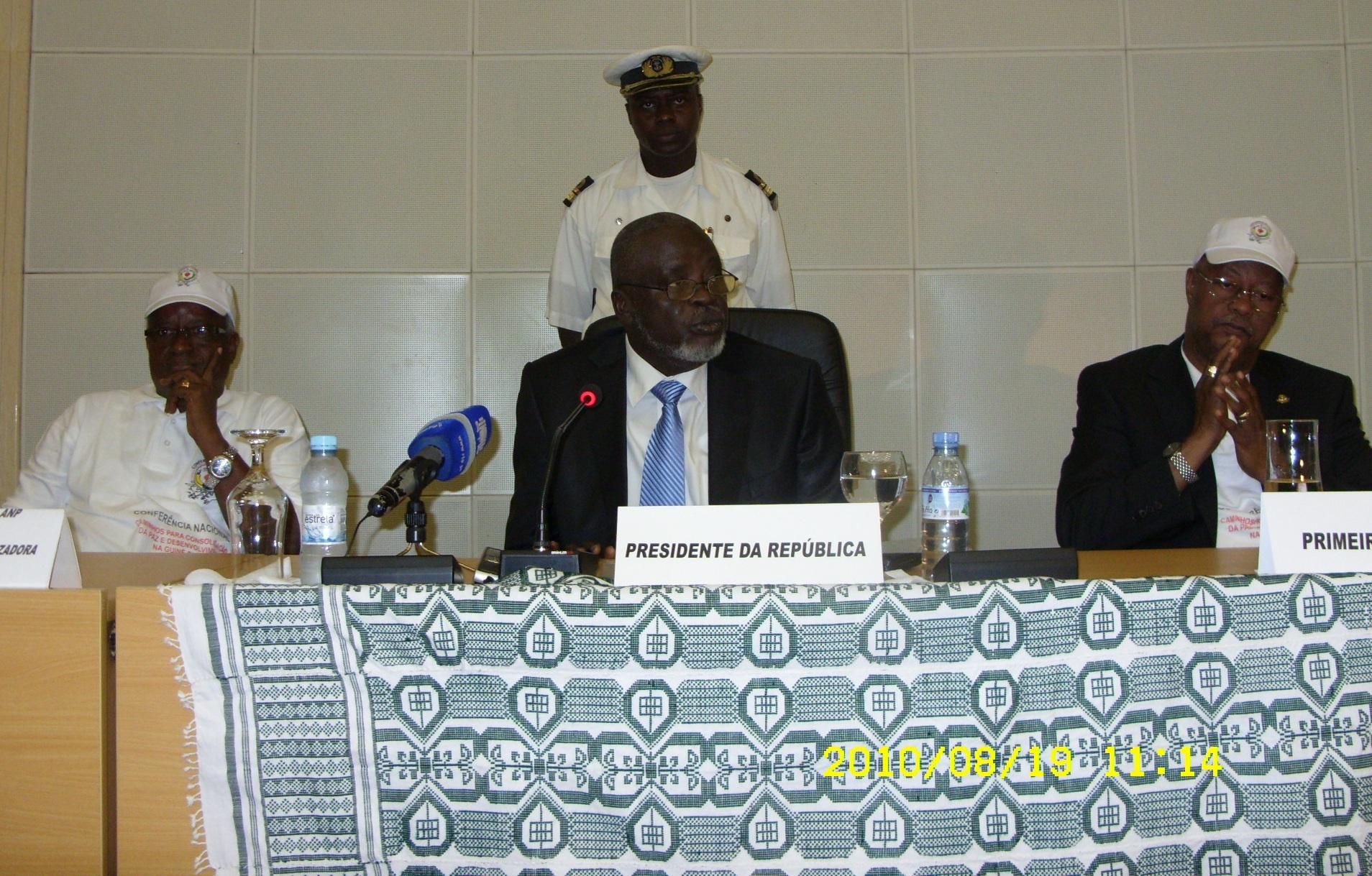 Abertura Oficial da Conferência Nacional para a Consolidação da Paz e Desenvolvimento
